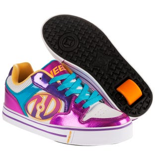 Heelys for Adults - Motion Plus White / Fuchsia / Multi