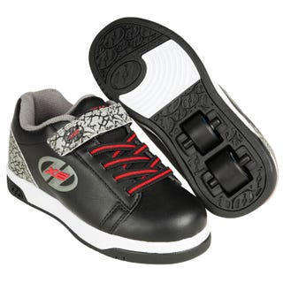 Skor med hjul – Heelys Dual Up Black / Grey / Elephant
