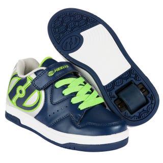 Tenis con Ruedas Adultos Heelys Hyper Azul / Plata / Verde