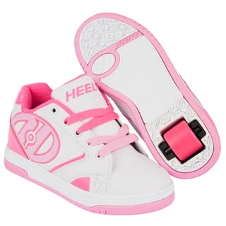 Heelys Propel White with Hot Pink and Light Pink