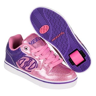 Heelys Adults - Motion Plus Purple/Pink Glitter