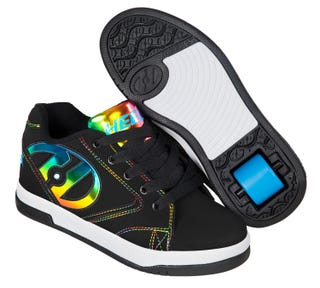 Girls Heelys with rainbow foil Propel 2