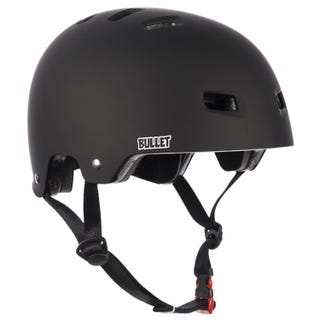 Bullet Deluxe Safety Helmet Kids - Matt Black