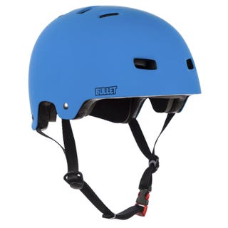 Bullet Deluxe Helmet Kids - Matt Blue
