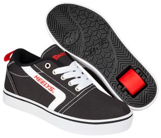 Adult Heelys - Gr8 Pro Black/ White / Red.