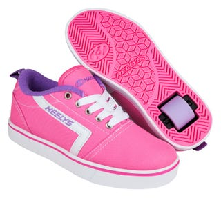 Heelys GR8 PRO Pink White and Lilac