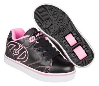 2 wheel Heelys Vopel in black and pink