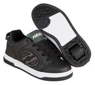 Adult Heelys - Voyager Black reflective / Black.