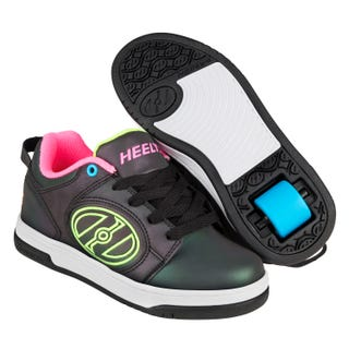 Heelys Voyager Reflective Black with yellow