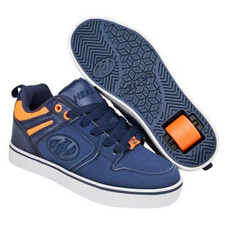 Heelys Motion 2.0 Navy with Neon Orange