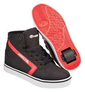 Adult Heelys - Gr8 Hi Black / Red.