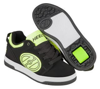 Heelys Voyager GID Black with Bright Yellow