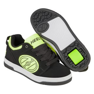 Adult Heelys - Voyager Black / Bright Yellow GID