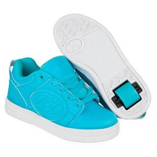 Rullesko - Heelys Voyager Cyan/Glow in the dark