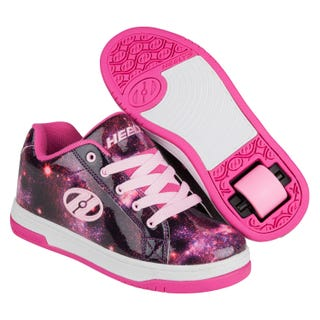 Heelys Split shiny galaxy print on pink
