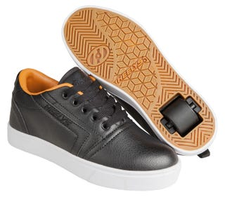 Adult Heelys - Gr8 Pro Black / Cashew.