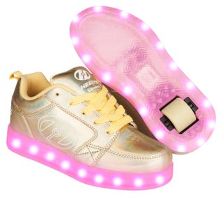 Light Up Heelys Propel 2 Yellow Hologram