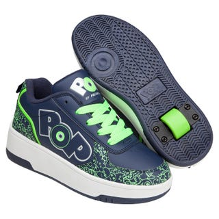Shoes with wheels - Heelys POP Strike in Neon