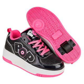 Shoes with wheels - POP! Strike Black/Sparkle/Pink