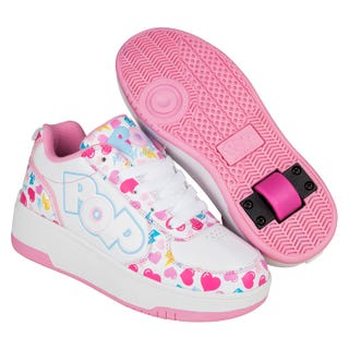 Shoes with wheels - Heelys Strike Pink with Heart