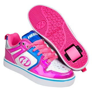 Shoes with Wheels - Heelys Motion 2.0 in Pink and Silver