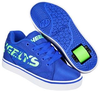 Shoes with Wheels - Heelys Vopel Blue with Neon Green