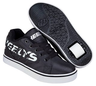 Shoes with Wheels - Heelys Vopel Black with Light Grey
