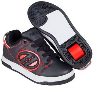 Shoes with Wheels - Heelys Voyager Black and Red