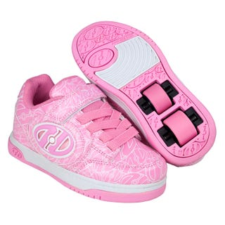 Chaussures à Roulettes - Heelys Plus X2 Lighted Cuir Verni Rose
