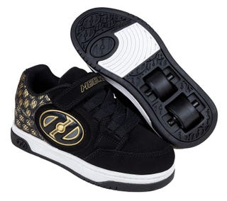 Heelys Boys - Plus X2 Lighted Black / Gold logo