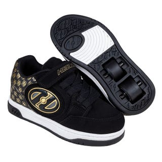 Rullesko - Heelys Plus X2 Lighted Black / Gold Logo