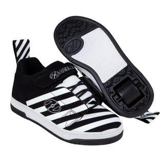 Heelys for Boys - Rift Black / White Stripe