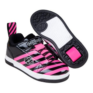 Rullesko - Heelys Rift Black / Hot Pink Stripe