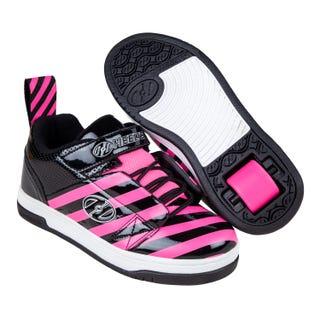 Rullskor – Heelys Rift Black / Hot Pink Stripe.