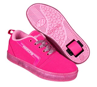 dff894f1 Rullesko - Heelys Voksne - Gr8 Pro Hot Pink / Light Pink /Glitter '