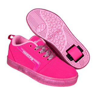 Rullesko - Heelys Gr8 Pro Hot Pink / Light Pink / Glitter.