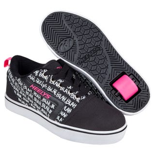 Heelys Girls Gr8 Pro Prints Black / Hot Pink / Blah