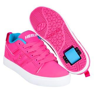 Skor Med Hjul - Heelys Racer Hot Pink/Light Blue
