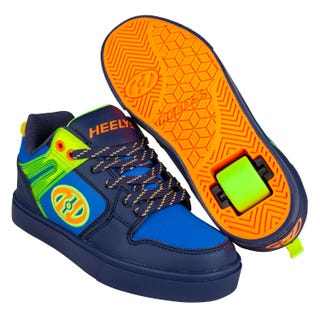 Chaussures à Roulettes Heelys Adultes - Motion 2 Marine / Jaune Brillant / Orange