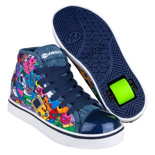 Heelys Veloz Denim/ Multi/ 90s Drucken