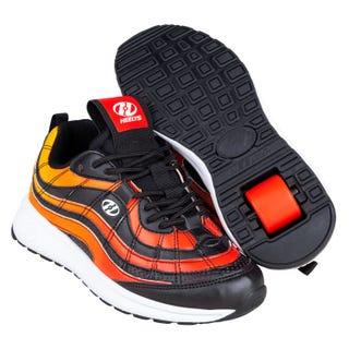 Shoes with Wheels - Heelys Nitro Black / Flame