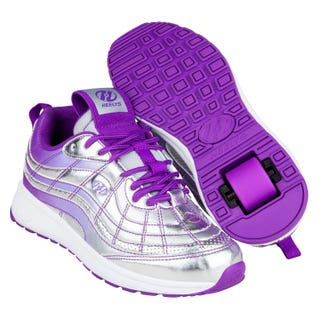 Shoes with Wheels - Heelys Nitro Silver / Violet