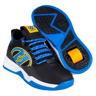 Shoes with Wheels - Heelys Bandit Black / Blue / Saffron