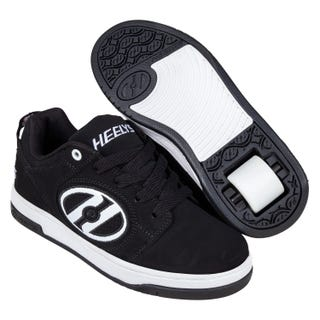 Shoes with wheels - Heely Voyager Nubuck Black / White