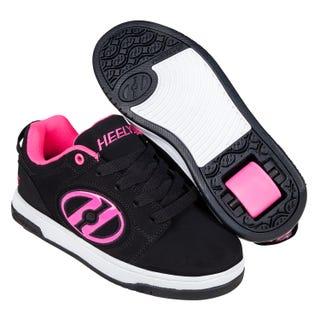 Heelys Voyager Black / Pink Adults