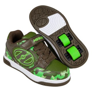 Heelys Plus X2 Dark Green Camo