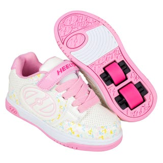 Heelys Plus X2 White / Light Pink / Multi Logo