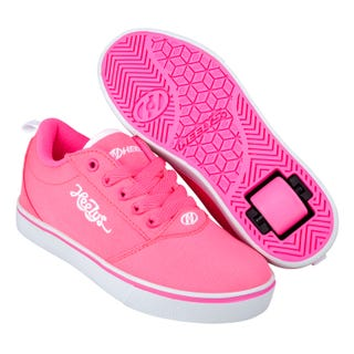 Heelys Pro 20 Adults Neon Pink / White