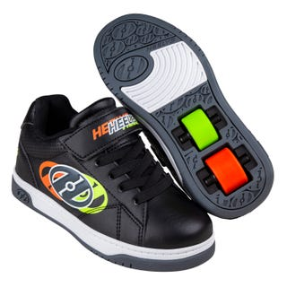 Heelys Swerve X2 Black / Neon Yellow / Flame