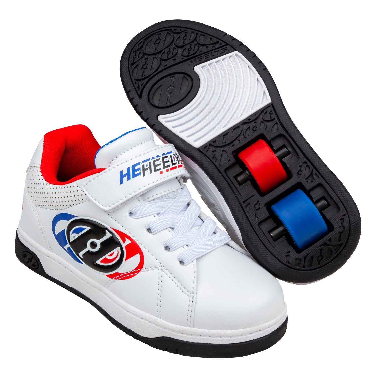 Heelys Swerve X2 White / Blue / Red